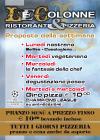 le colonne pizzeria volantini crema on-line soffiata