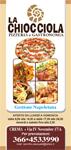 La Chiocciola pizzeria volantino - crema on line