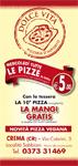 Dolce vita pizzeria crema - volantino Crema on line