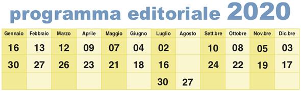 calendario editoriale annunci pubblicit soffiata crema