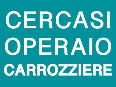 CERCHIAMO OPERAIO CARROZZIERE