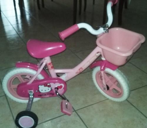 Bici Bimba Hello Kitty A Crema La Soffiata