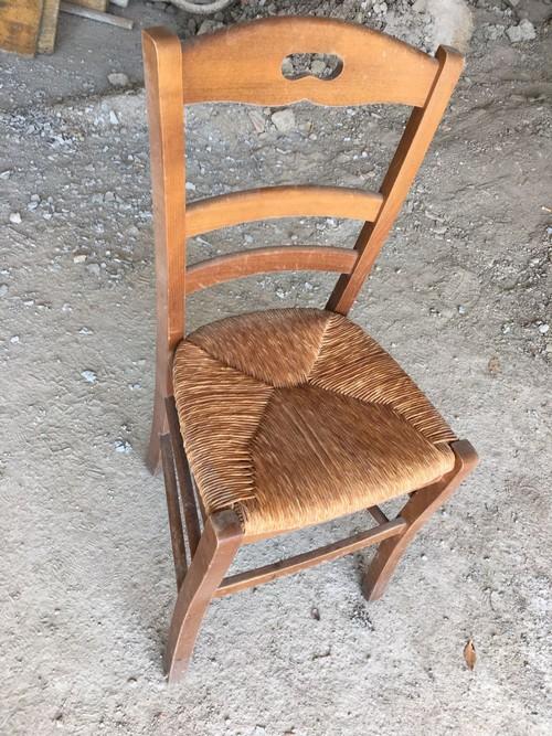 Sedie In Legno Per Ristorante Usate.Sedia Ristorante In Legno Impagliata Usata A Villanuova Sul Clisi